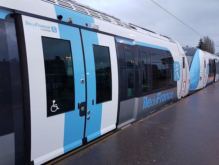 Nouveau Tram ligne L au quai