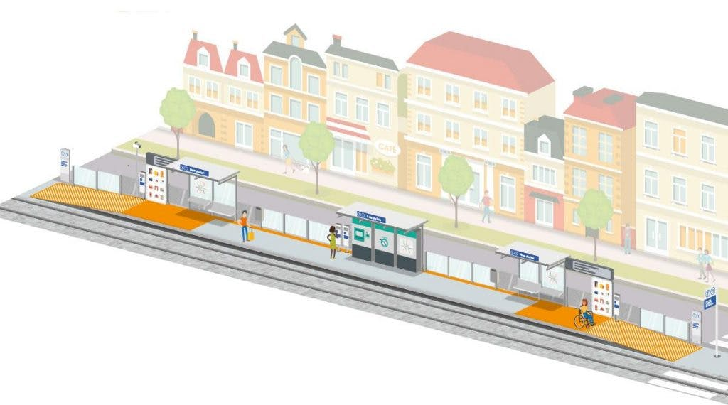 Infographie : Présentation du projet de modernisation du Tram 1