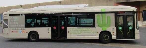 Nouveau bus hybride en île-de-France