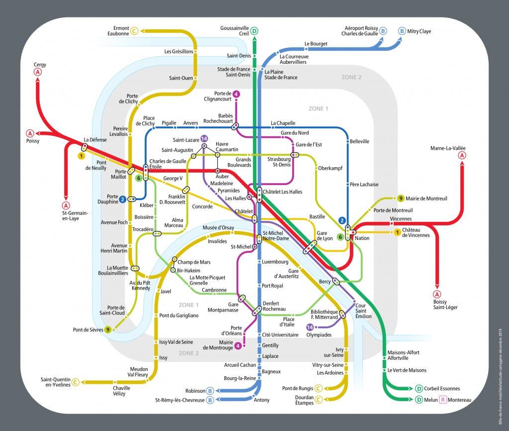 L'itinéraire des lignes de métro pour accompagner les Franciliens pendant la fête de la musique