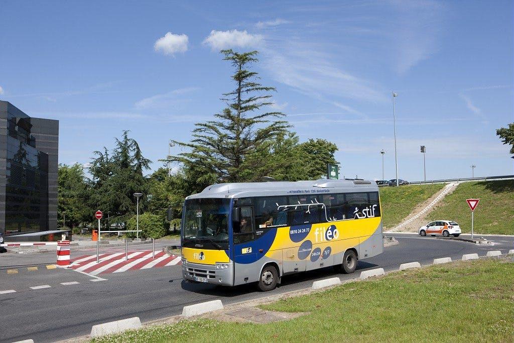 Passage bus filéo : Transport à la demande pour les Franciliens