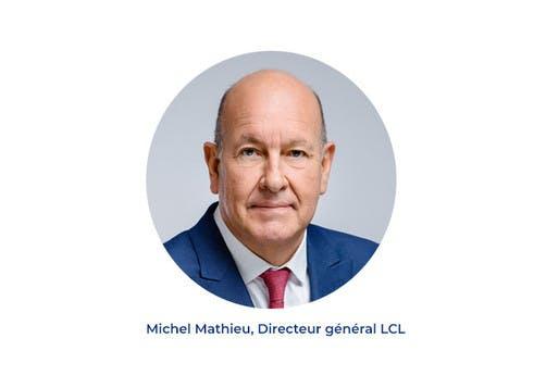 Michel mathieu, Directeur général LCL