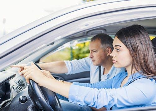 Réussir l'examen du permis de conduire