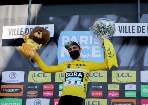 Maximilian Schachman remporte Paris-Nice 2021