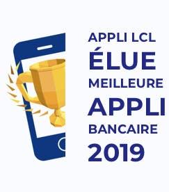 Appli LCL élue meilleures appli bancaire 2019