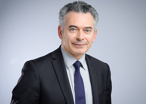 Olivier Nicolas est Directeur entreprises, institutionnels, gestion de fortune et de la banque privée LCL