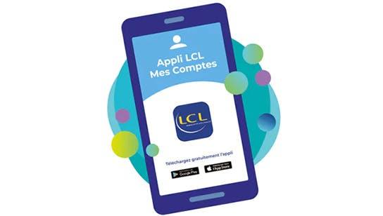 Gérez vos comptes à distance avec l'appli LCL Mes Comptes Pro