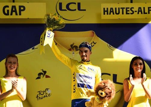 Alaphilippe conserve son Maillot Jaune LCL sur l'étape 17 du Tour de France 2019