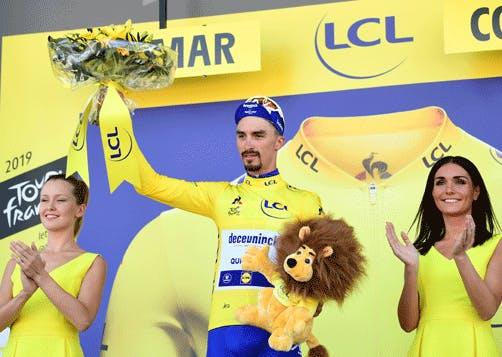 Maillot Jaune de l'étape 5 du Tour de France 2019