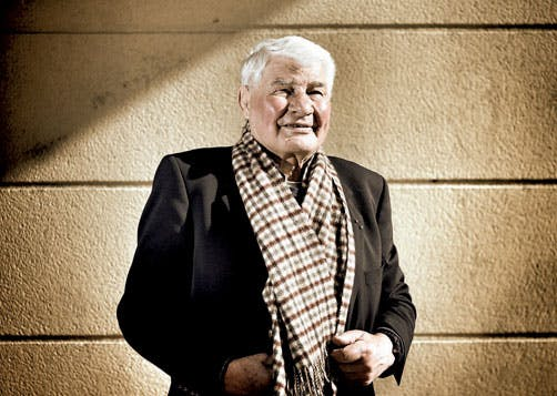 Raymond Poulidor, ambassadeur LCL depuis 2001