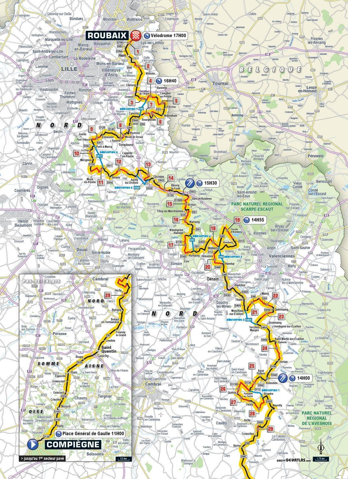 LCL, partenaire du Paris-Roubaix 2019