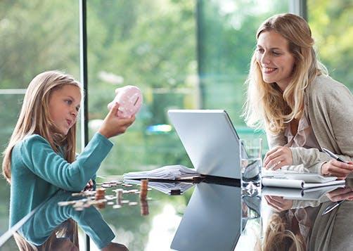 Objectifs de l'épargne pour enfants : LCL Banque et Assurance