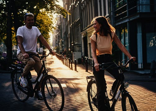 Le vélo hollandais
