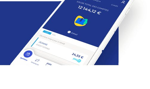 Appli Mobile LCL Mes Comptes