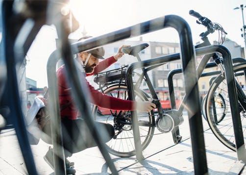 Le stationnement à vélo