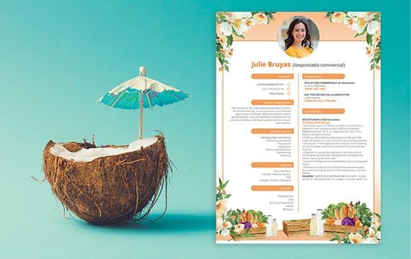 CV de commercial : MyCVFactory LCL Banque et Assurance