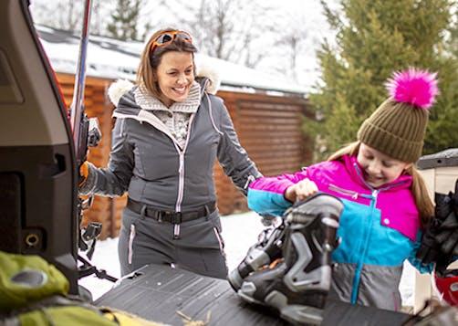 Le jour du départ en vacances d'hiver : Nos conseils sécurité LCL Banque et Assurance