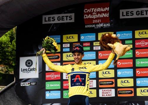 Richie Porte remporte le Critérium du Dauphiné 2021