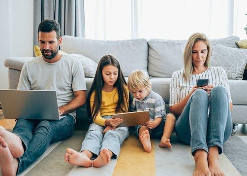Assurance tous mobile pour toute la famille : LCL Banque et Assurance