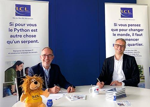 LCL signe un partenariat école avec l'EFREI Paris