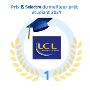 Prix Selectra du Meilleur Prêt étudiant : LCL Banque et Assurance