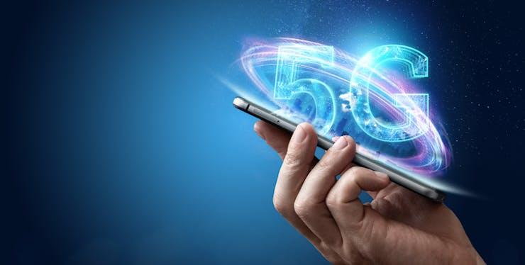 Celular com holograma de 5G