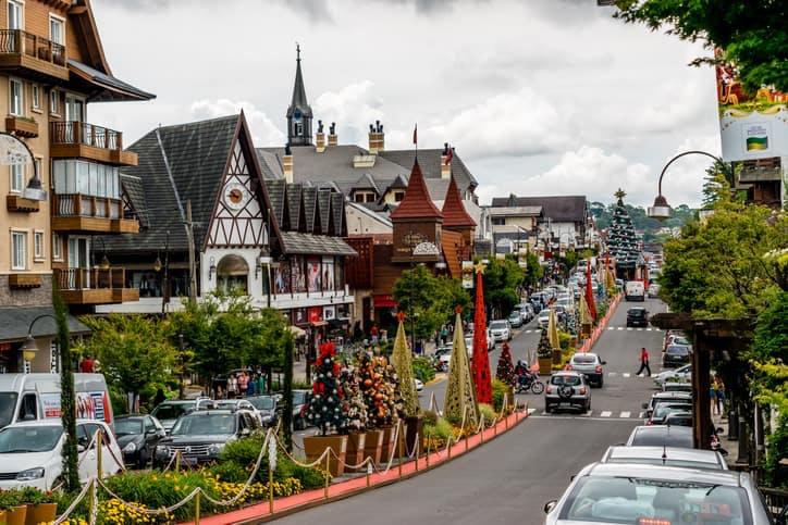 Imagem do estado RS, onde fica Nonoai