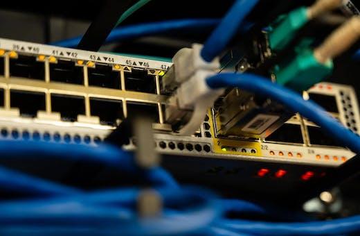 Teste de velocidade de conexão da internet