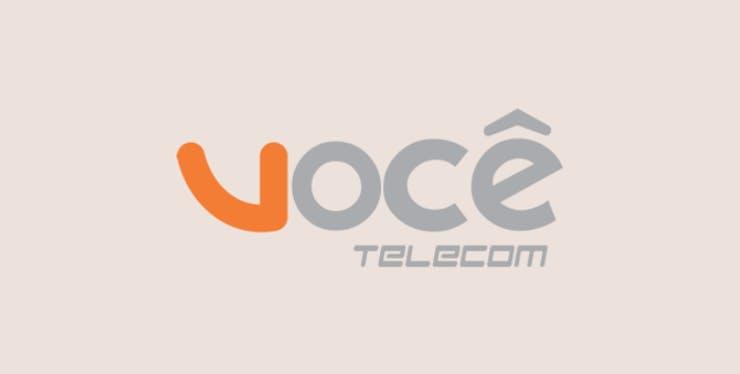 Você Telecom: logomarca da empresa