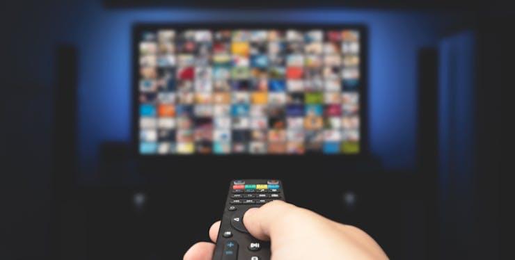 Controle para manusear a tv