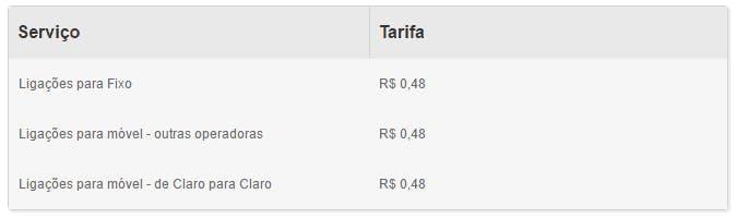 Planos Claro Pré Pago   ☎ 0800 207 2121   Claro Pré por R$ 9,99