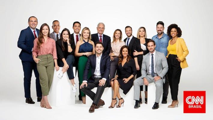 CNN Brasil: jornalistas famosos contratados