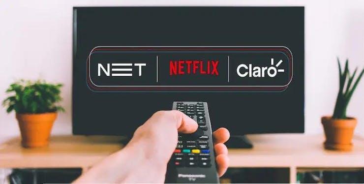Parceria entre Netflix, NET e Claro. Aproveite esta novidade!