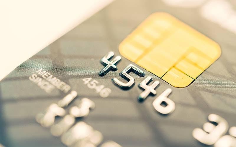 Foto de cartão de débito
