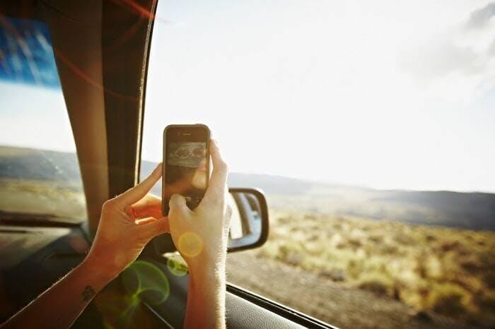 foto telefone móvel