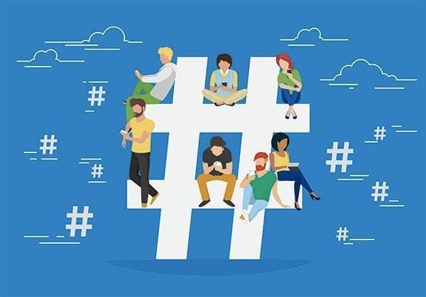 TBT - Hashtags mais usadas