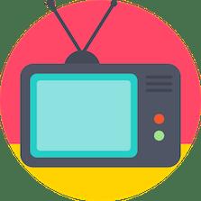 TV por Assinatura - ilustração de uma televisão