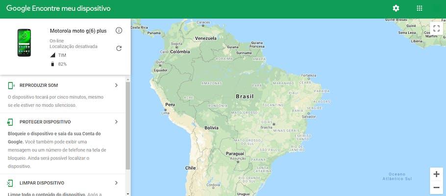 Encontre meu Dispositivo: rastreador de celular Android