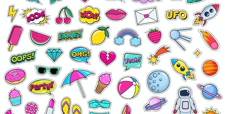 Stickers para Whatsapp: várias figurinhas diferentes