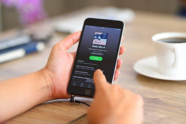 Aplicativo de música - Spotify