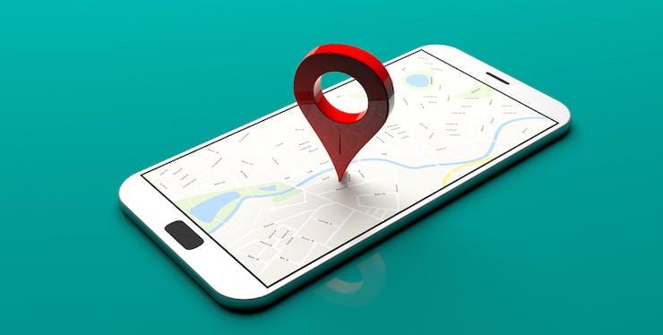 Mapa no celular