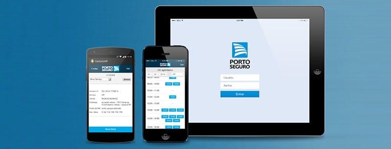 Internet Porto Seguro app
