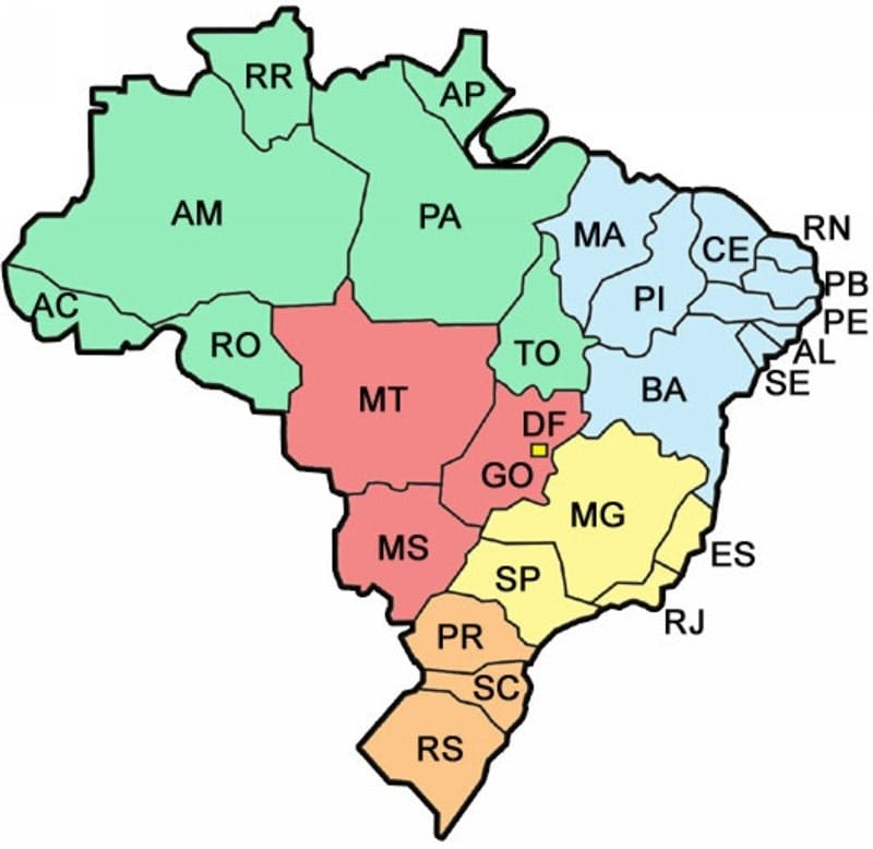 numero de telefone mapa brasil