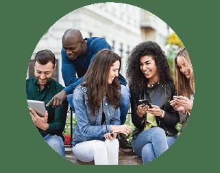Planos Nextel - grupo de amigos