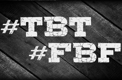 O que é #TBT e #FBF? Conheça o significado e saiba como usar!