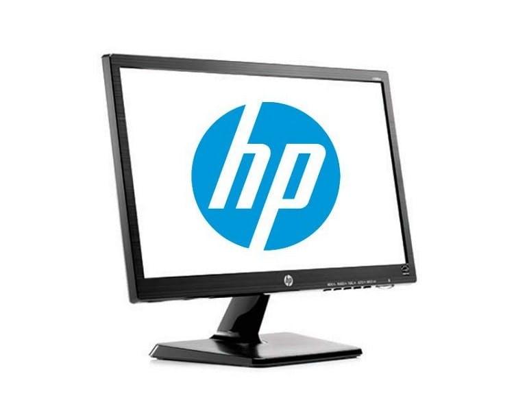 hp logo no monitor