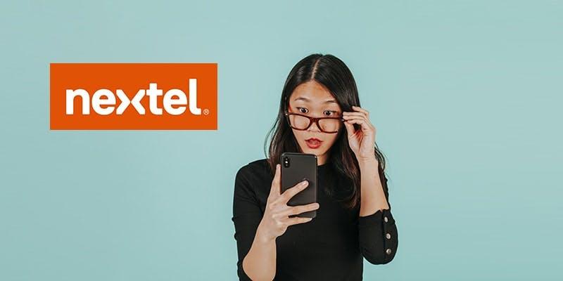 Tutorial Nextel Configurar Internet - mulher no celular