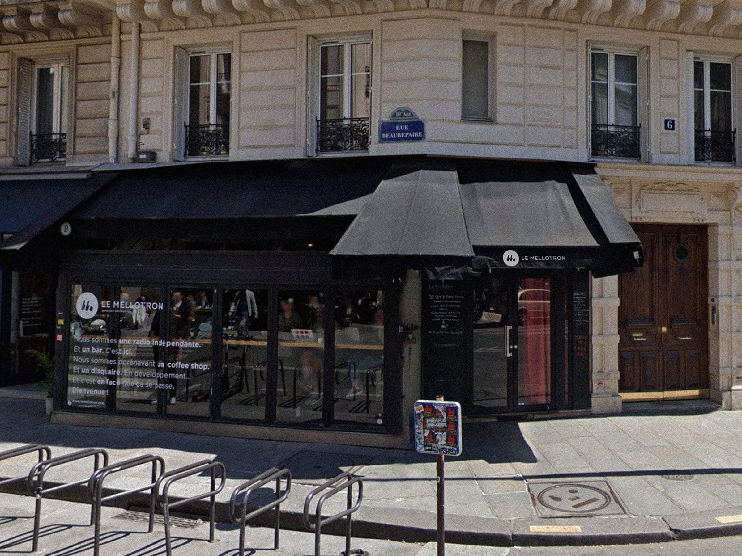 MELLOTRON - ILLUSTRATION LOGO PARIS