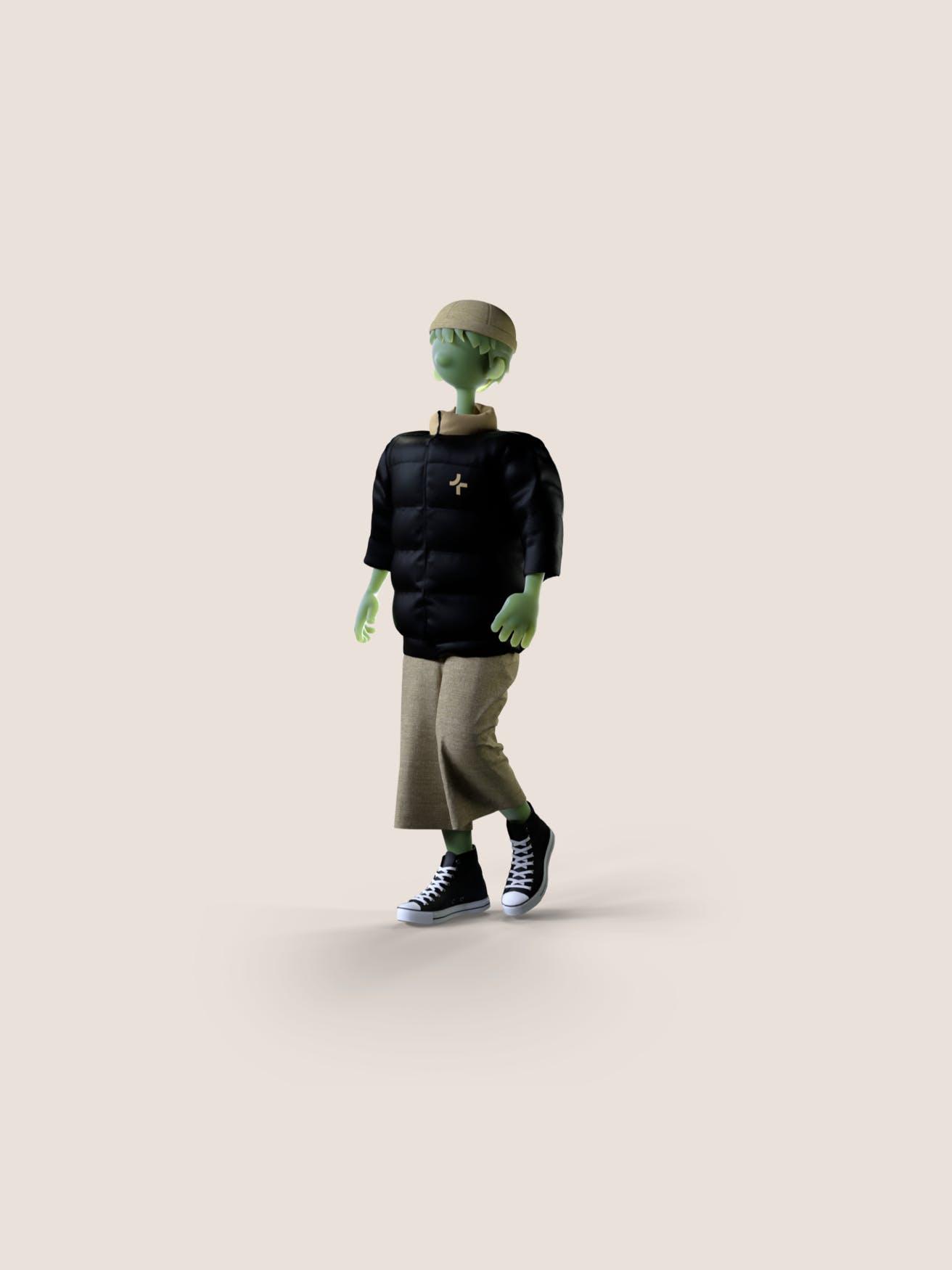 Cover - Jameen Tarlier - 3D Character