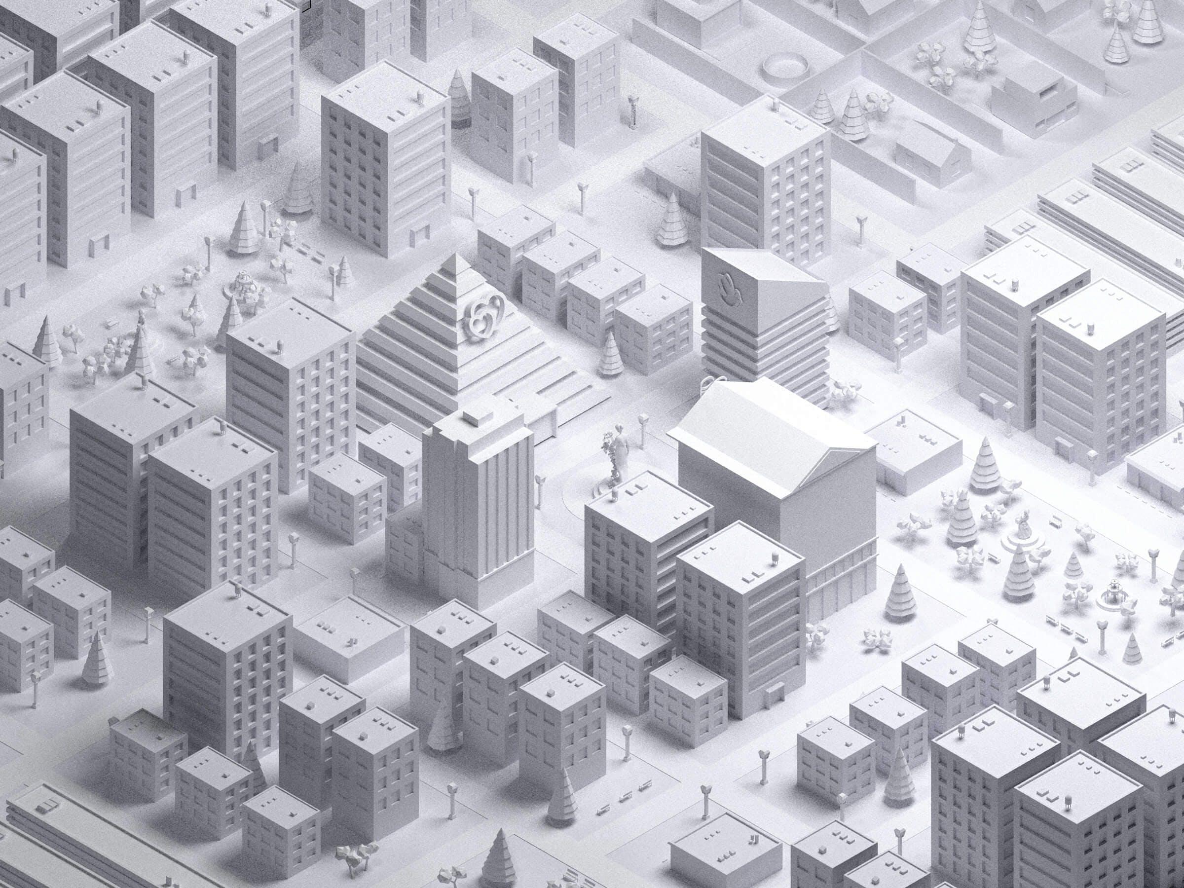 3D Map London Omnia 1984